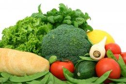 野菜たっぷりの写真